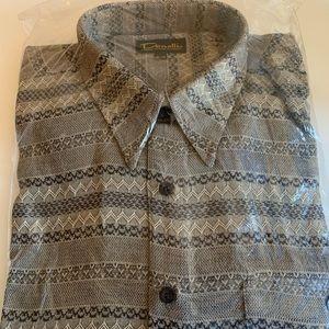 Men's Vintage Patterned Shirt